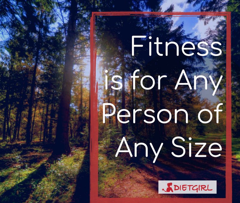 Fitness is for Any Person of Any Size