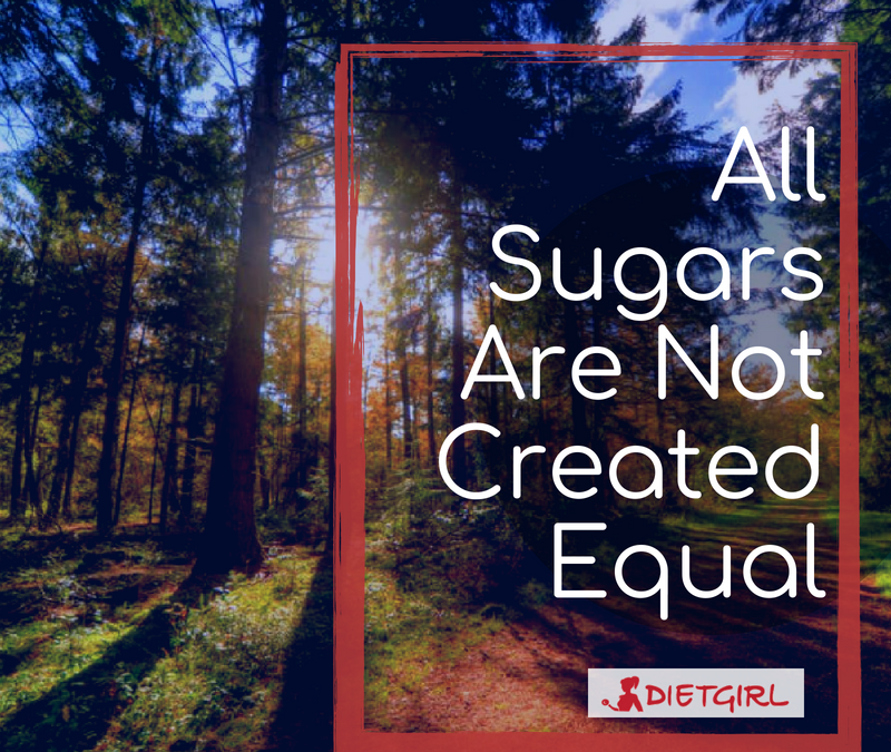 All Sugars are NOT Created Equal