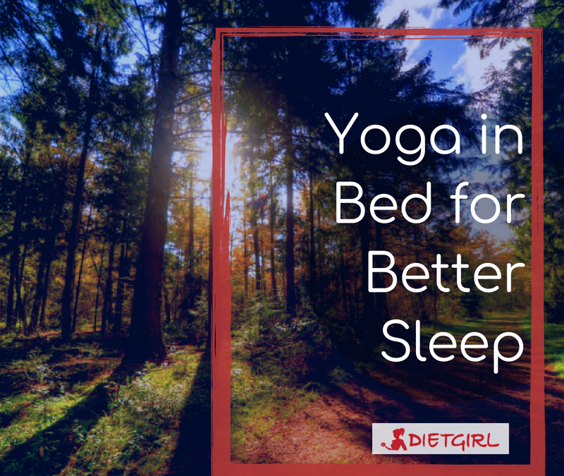 Yoga in Bed for Better Sleep