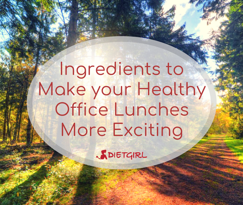 Ingredients to Make your Healthy Office Lunches More Exciting