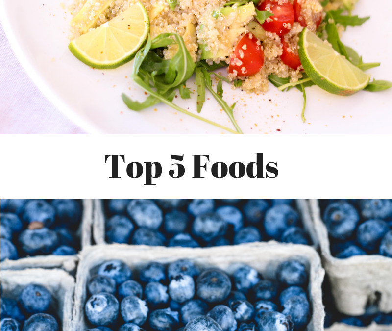The Top 5 Foods for Healthy Living